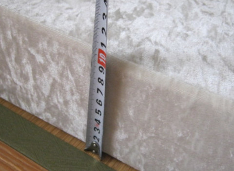 最低「7cm以上」の厚みが必要